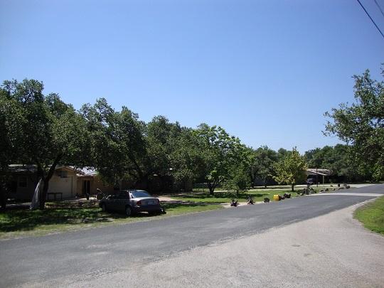 West Oak Hill outline map