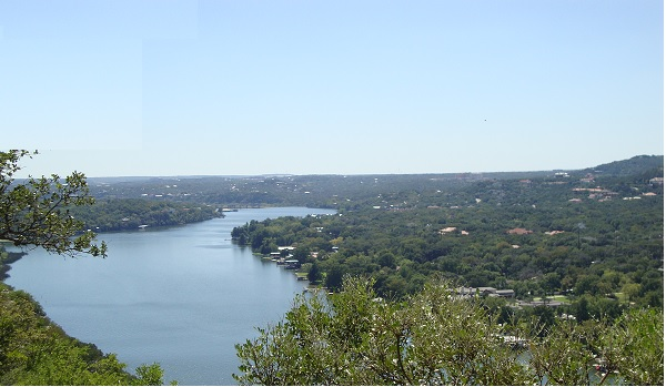 Mount Bonnell scenic view